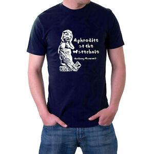 Tony Hancock T-shirt The Rebel. Aphrodite at the Waterhole Sculpture Movie Tee