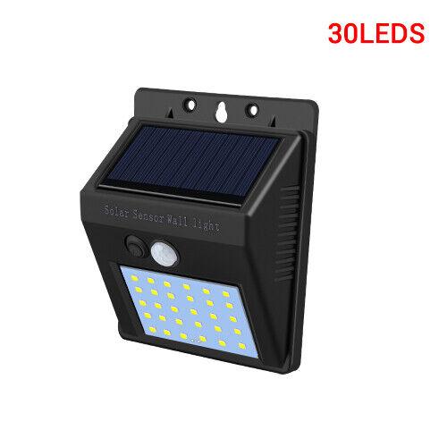 20-100LED Solar Power PIR Motion Sensor Outdoor Garden Light Security Flood Lamp