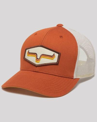 Kimes Ranch Orange Rhythm Patch Mesh Trucker Cap  Orange