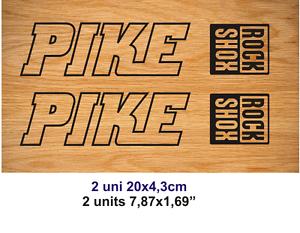 Adhesivo Pegatina Sticker Decal Aufkleber Autocollant Vinyl Bike Rock Shox Pike Toujours Acheter Bien