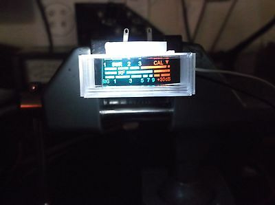 NEW COBRA,UNIDEN CB RADIO S RF WITH SWR POWER REPLACEMENT METER & 5MM WHITE LED
