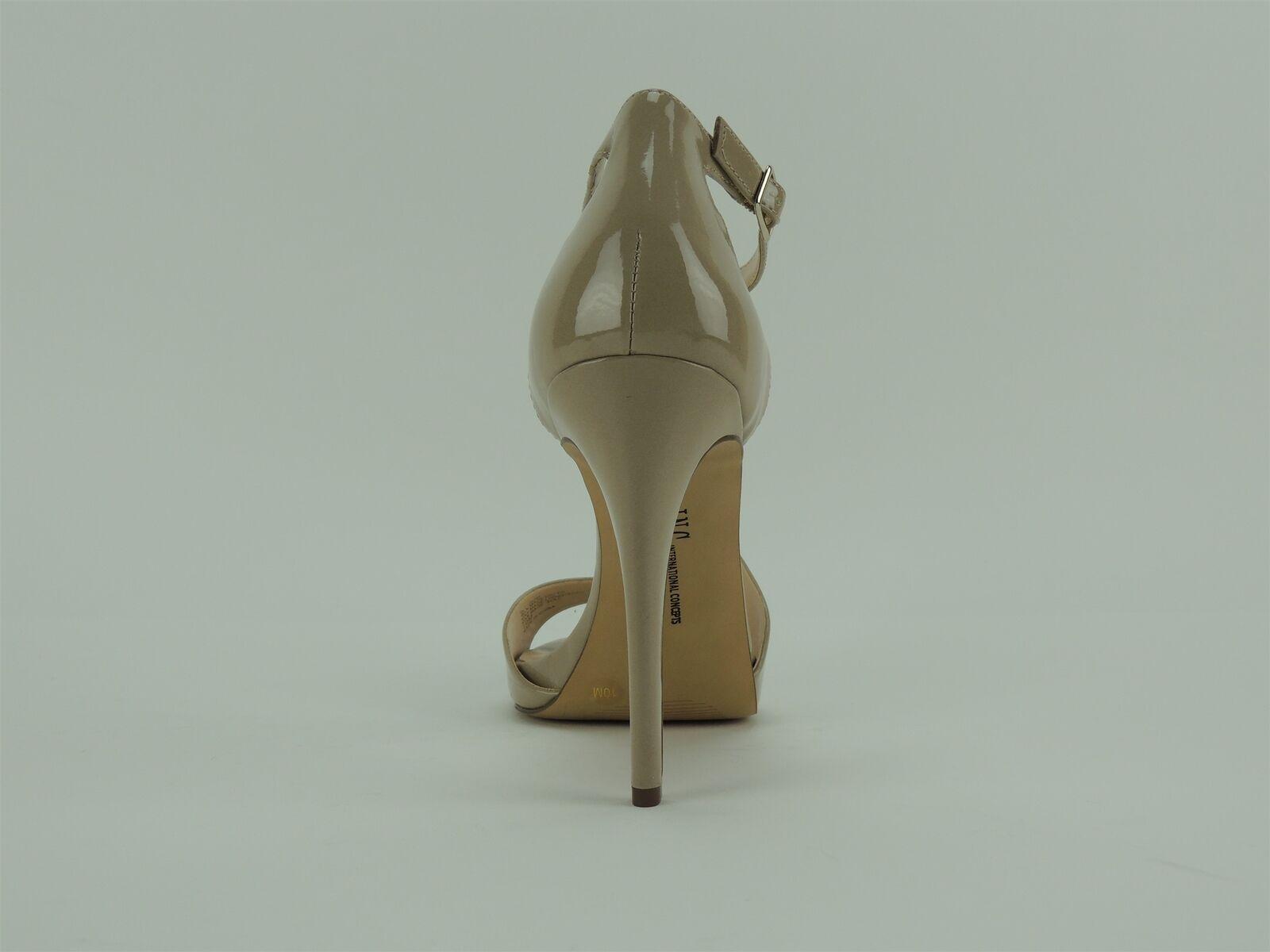INC INC INC International Concepts Women's Suzi High Heel Platform Sandal Oatmeal 10 M 401d1c