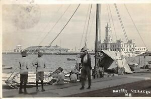 Mexique-n-61458-Muelle-Veracruz-Carte-photo