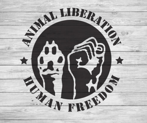 animal human liberation new t-shirt all sizes,colours protest animal rights