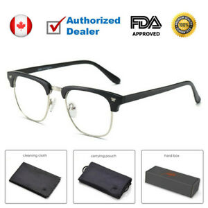 6152a3706af Details about Blue Light Blocking Glasses Computer Gaming Protection  Reading Anti Glare Filter