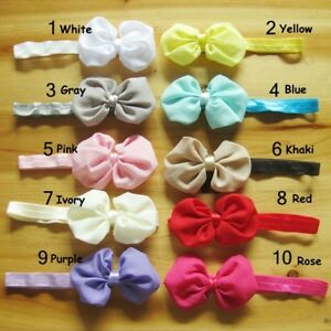 New-Baby-Girls-Toddlers-Infant-Flower-Headband-Hair-Bow-Band-Accessory-Tool-G9C