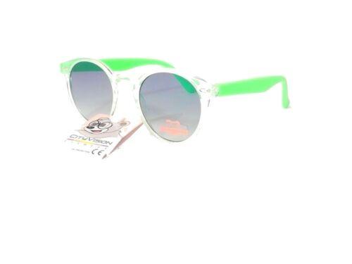 lunettes de soleil enfant 6 7 8 9 ans fille garçon rondes cityvision 072242