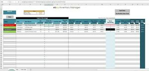 2018 ebay sales inventory tracker excel pc windows office