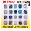 miniatuur 1 - Set of 20 Healing Crystal Natural Gemstone Reiki Chakra Collection Stone Kit