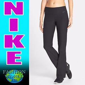 3eccf8fc5d87 Nike Legendary Regular Fit Black Training Pants Dri-Fit 584110 SZ XS ...