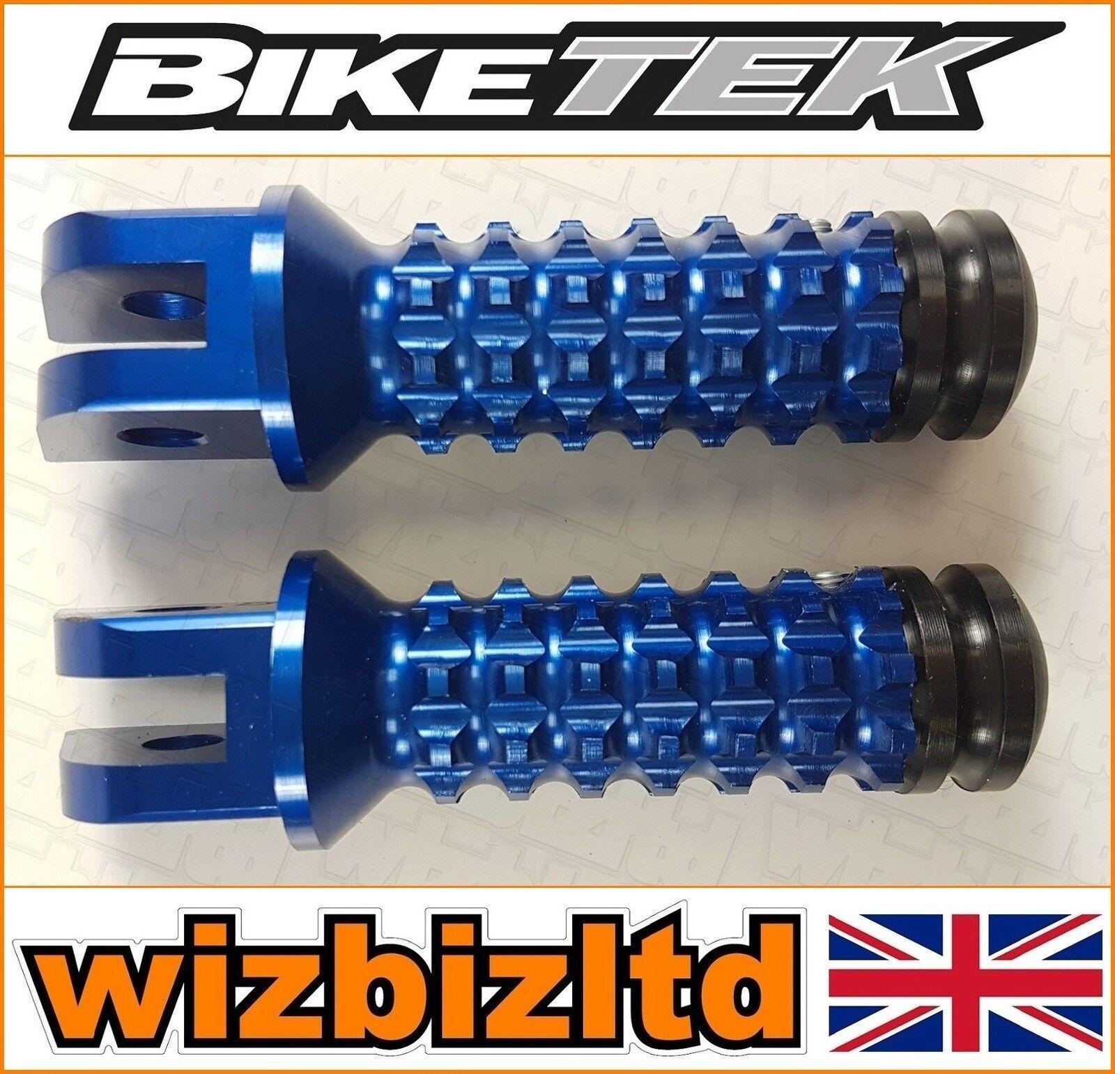 Biketek bluee Premium CNC Vorne Fußrasten Yamaha YZF-R1 1998-2012  FPGYF11BU  novelty items