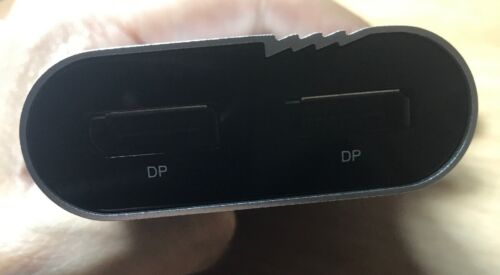 Plugable Thunderbolt 3 to Dual DisplayPort Display Adapter For Windows TBT3-DP2X