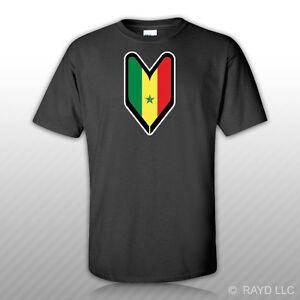 Senegalese-Driver-Badge-T-Shirt-Tee-Shirt-Free-Sticker-wakaba-soshinoya-Senegal