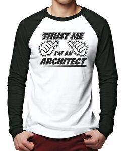Trust-Me-I-039-m-an-Architect-Men-Baseball-Top