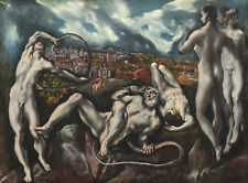 PAINTING THEOTOKOPOULOS (EL GRECO) LAOCOON LARGE POSTER WALL ART PRINT LF3037