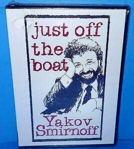 Yakov-Smirnoff-Just-Off-The-Boat-Russian-Comedian-DVD-Brand-New-B419
