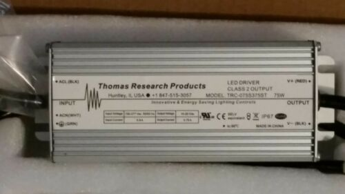 100V to 277 75W NEW Thomas Research LED DRIVER TRC-075S375ST