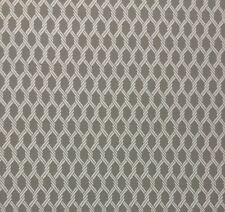 """P KAUFMANN KNOTTED ROPE GRAY JACQUARD FURNITURE CUSHION FABRIC BY THE YARD 55""""W"""