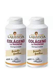 colageno con magnesio ana maria lajusticia 450 comprimidos precios