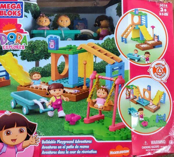 Efficace Mega Bloks-dora The Explorer-superposée Playground Adventures-neuf-cadeau Un RemèDe Souverain Indispensable Pour La Maison