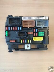 s l300 genuine peugeot 207 under bonnet fuse box 6500hw ebay 2007 fuse box at soozxer.org