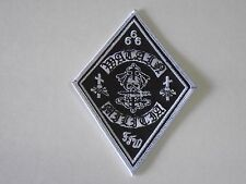 WATAIN BLACK METAL MILITIA EMBROIDERED PATCH