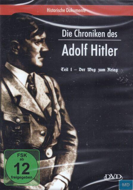 Die Chroniken des ADOLF HITLER + DVD Dokumentation + Teil 1 - Der Weg zum Krieg