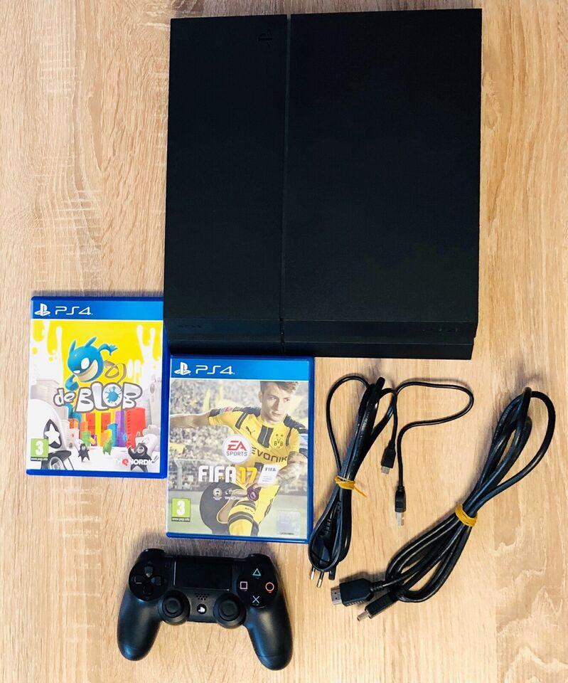 Playstation 4, 1000 GB / 1TB, Perfekt