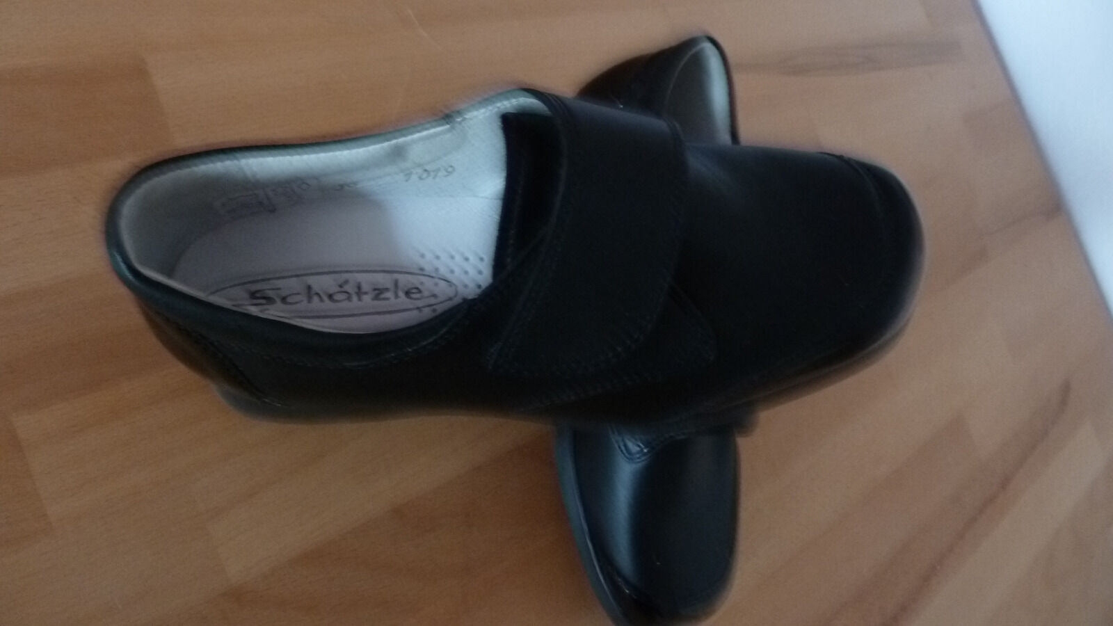 Damenschuhe - Halbschuhe, Gr.36, schwarz, Schätzle