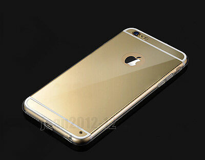 """Make-up Mirror Effect Soft Silicone Case Cover Skin For iPhone 5/5s 6 4.7"""" 5.5"""""""
