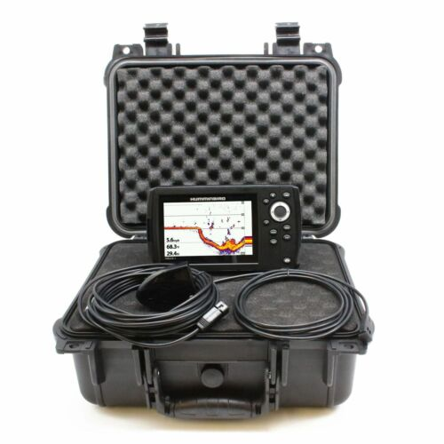 Koffer Humminbird Helix 5 CHIRP GPS G2 Fishfinder Mobil 762 Meter Echolot inkl