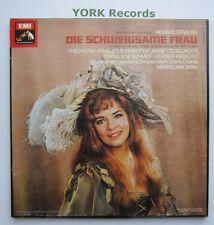SLS 5160 - STRAUSS - Die Schweigsame Frau ADAM / BURMEISTER - Ex 3 LP Record Set