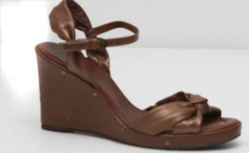 5 Chiang con taglia Arturo pelle zeppa donna sandali Nuovi 8 da in a4O7an1