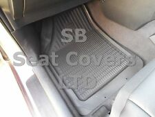 i - TO FIT A RENAULT LAGUNA CAR, DEEP DISH CAR FLR MATS, GREY - 5 PIECE SET