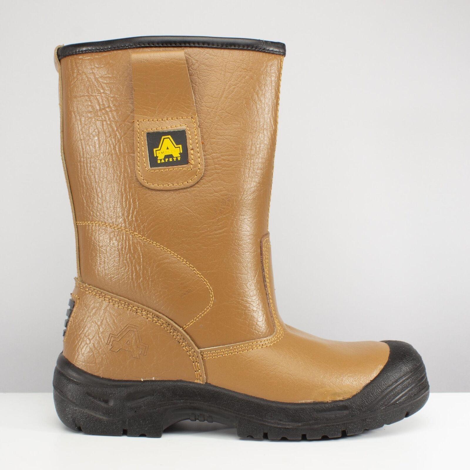 Amblers Safety FS142 Unisex Puntera De Acero Antideslizante resistir S3 Seguridad Rigger botas tan