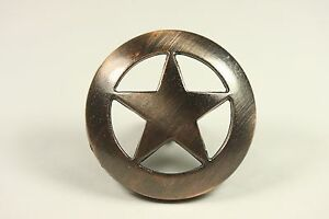 Image Is Loading STAR KNOB AC WESTERN CABINET HARDWARE DRAWER PULLS