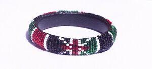 Kenya Handmade Kenya Flag Bangle Bracelet