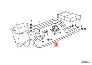 Genuine    BMW    E36    HOSE    For    Heater    Control Valve And    Radiator