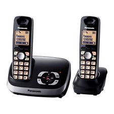 Panasonic KX-TG 6522 GB Schnurlostelefon mit Anrufbeantworter schwarz