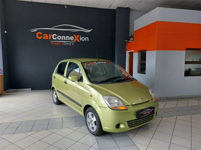 2007 Chevrolet Spark 1.0 LS (M200), Green with 78000km available now!
