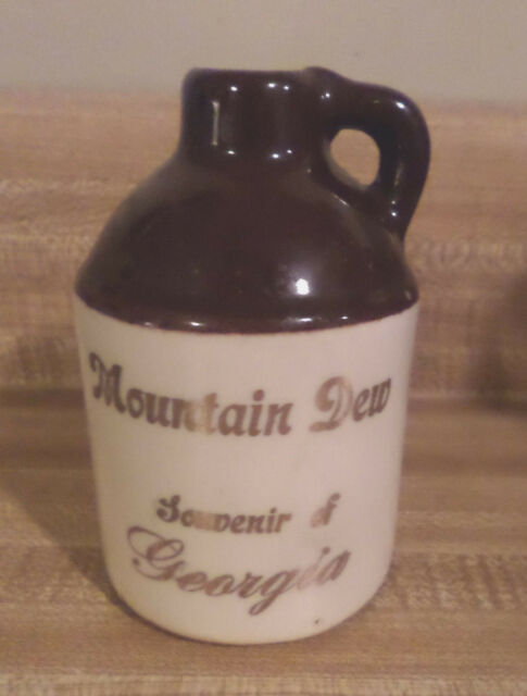 Paden City Artware Moonshine Jug souvenir Georgia PCA Handcrafted Mountain Dew