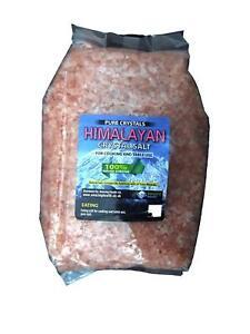 Amazing Health ® 2kg Himalayan Salt Eating Granulated for Salt Mill Grinders
