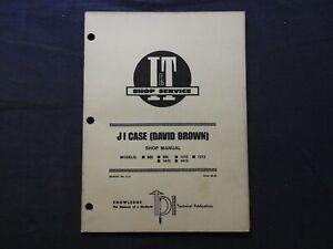 1981 CUSTODIA DAVID BROWN 885 995 1210 1212 1410 1412 TRACTOR I & T SHOP MANUAL