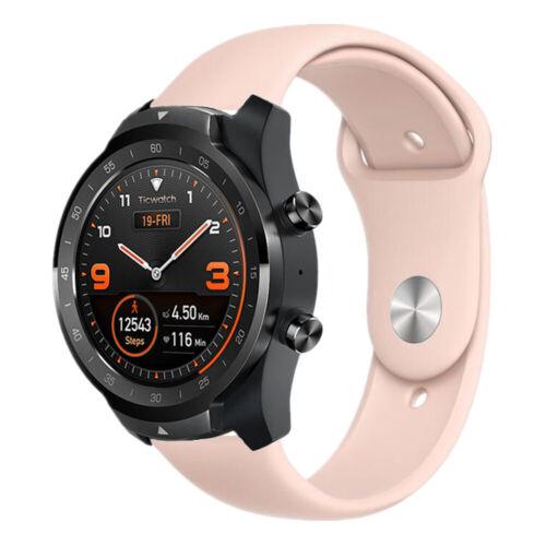 C2 E Band Strap A# Silikon Armband Sport Uhrenarmband für Ticwatch Pro S2 E2