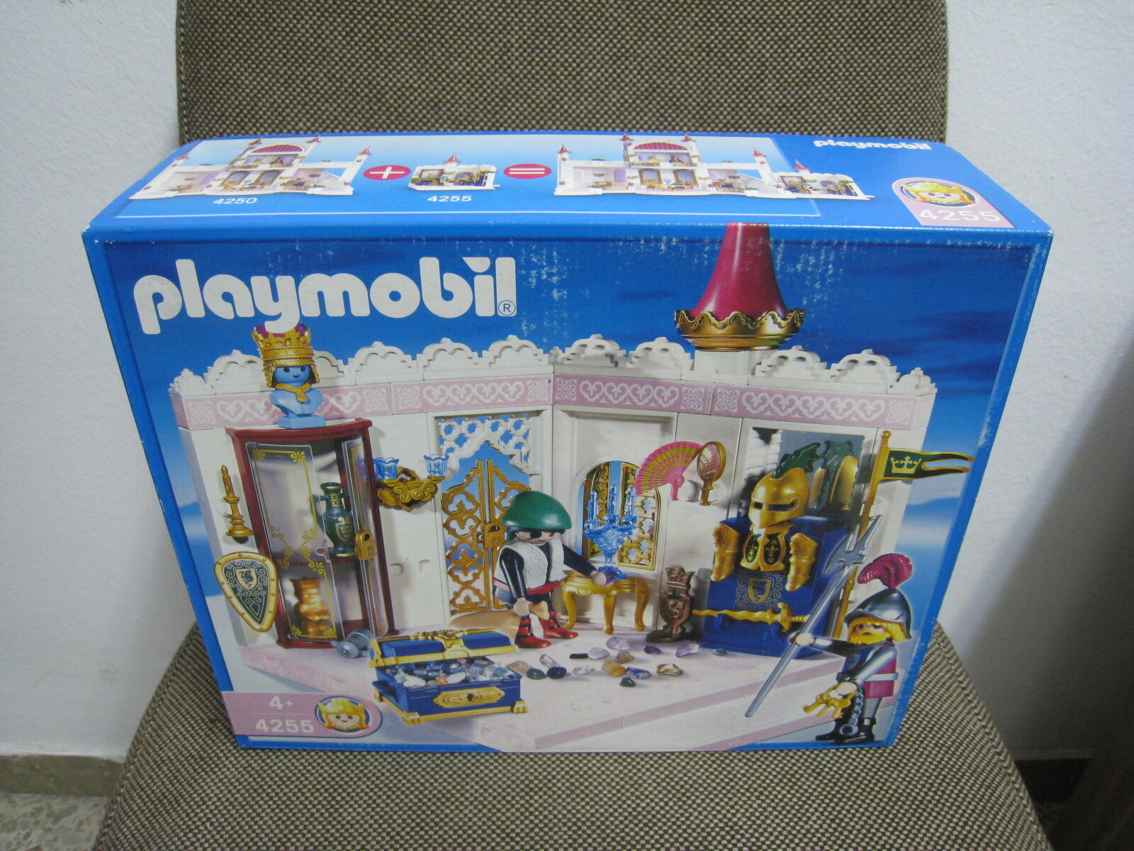 Playmobil - Fairy Tales City Museo - Sala Tesoro Real - 4255 - (NUEVO) OVP
