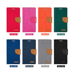 Wallet-Card-Slot-Canvas-Case-For-Samsung-S9-Plus-S8-S7-Edge-S6-S5-Note-8-5
