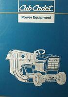 Cub Cadet Lawn Tractor 1220 Parts Manual 30pg. Riding Mower Garden