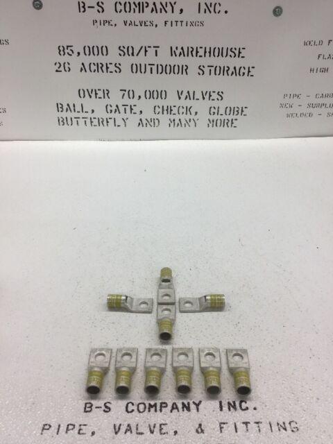 BURNDY YA29L Wire Connector Yellow Die 250 Kcmil CU 1-hole Short 1/2 ...