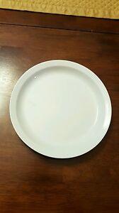 Image is loading Pottery-Barn-Dinnerware-Du-Jour-White-Salad-Plate- & Pottery Barn Dinnerware Du Jour White Salad Plate 8