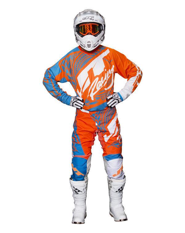 JT Racing Flex Victory Combo Hose + Jersey KTM Orange 36/XL MX Motocross Enduro